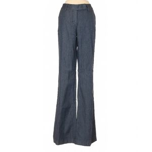 WHBM Chambray Flare Leg Trousers
